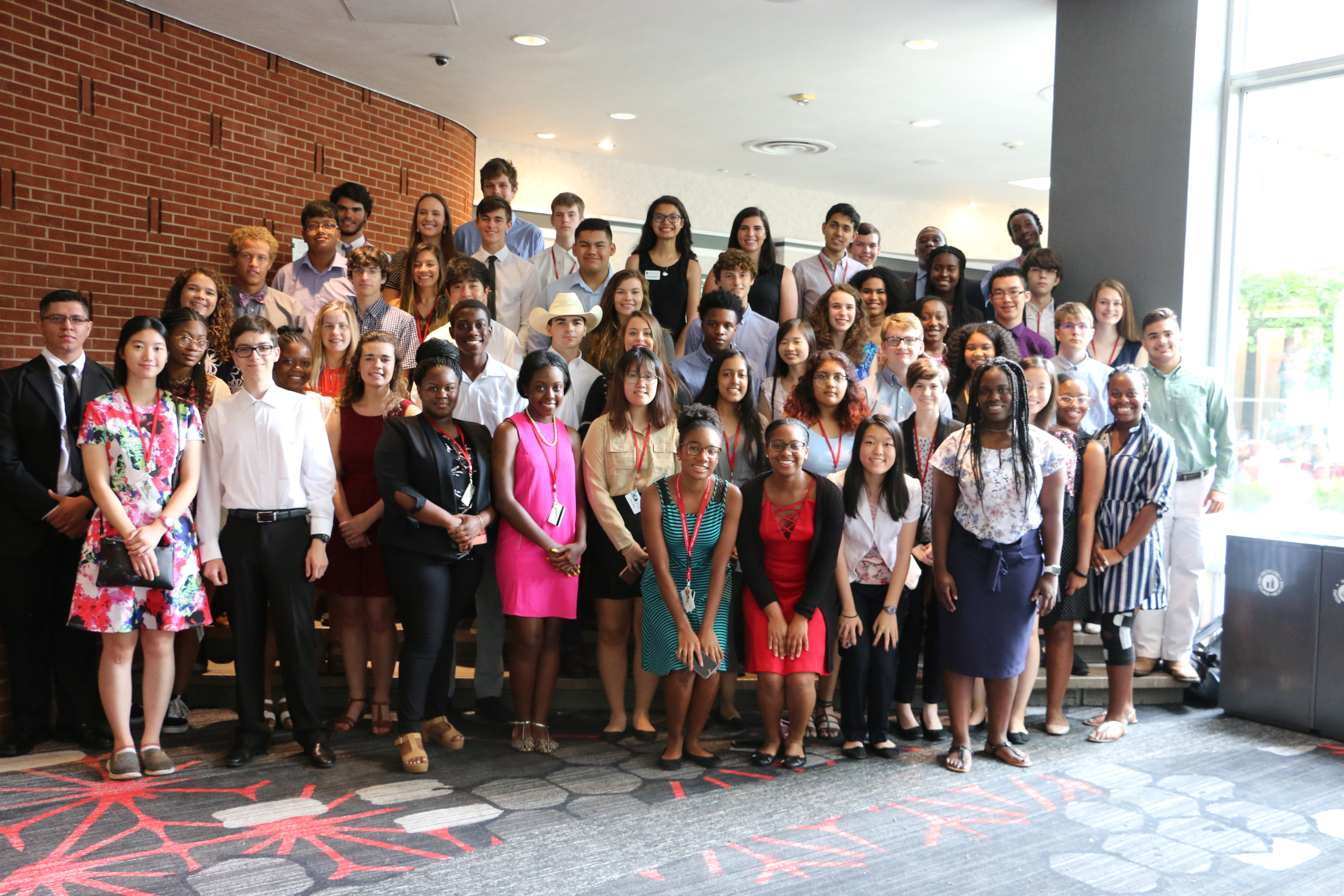 This year 59 Young Scholars represent more than 35 high schools from across the state spent six weeks working with researchers in the UGA College of Agricultural and Environmental Sciences.