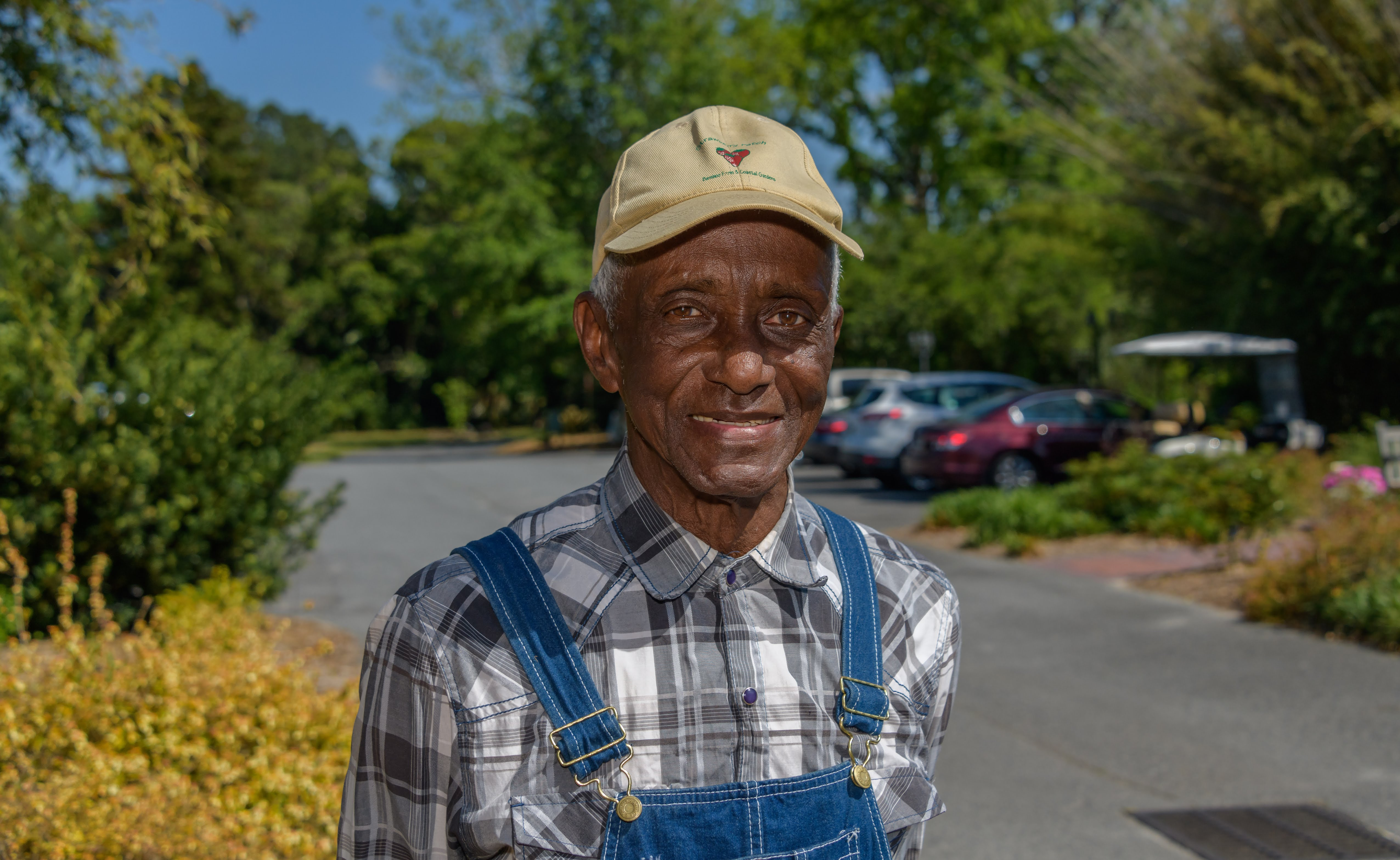At 75, Frank Williams is retired from his position as the groundskeeper for the University of Georgia Coastal Georgia Botanical Garden at the Historic Bamboo Farm in Savannah, Georgia. But he still works there three days a week and he hasn't slowed down a bit.