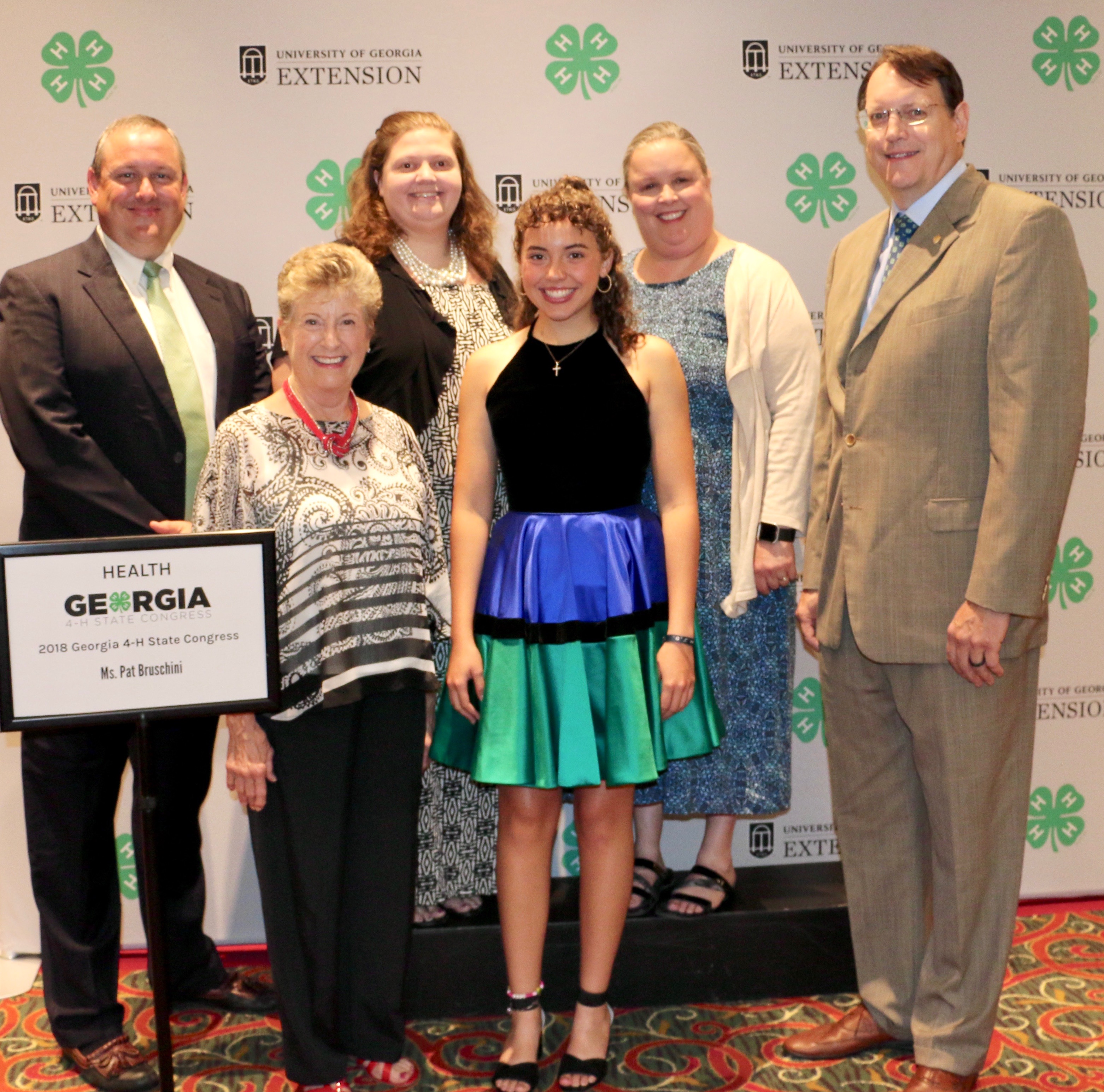 Sophia Rodriguez of Liberty County is among the 50 Georgia 4-H members who were awarded first place in their category during State 4-H Congress held July 24-27. Rodriguez competed in the health category.