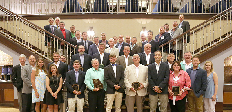 On August 11, 2018, peanut producers, UGA Extension agents, UGA Peanut Team specialists and industry supporters were honored at the Peanut Achievement Club meeting.