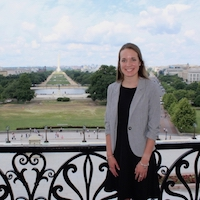Johnson Collins, of Jasper, Georgia, spent 12 weeks this summer working in the office of Sen. Johnny Isakson as part of the UGA College of Agricultural and Environmental Sciences Congressional Agricultural Fellowship program.
