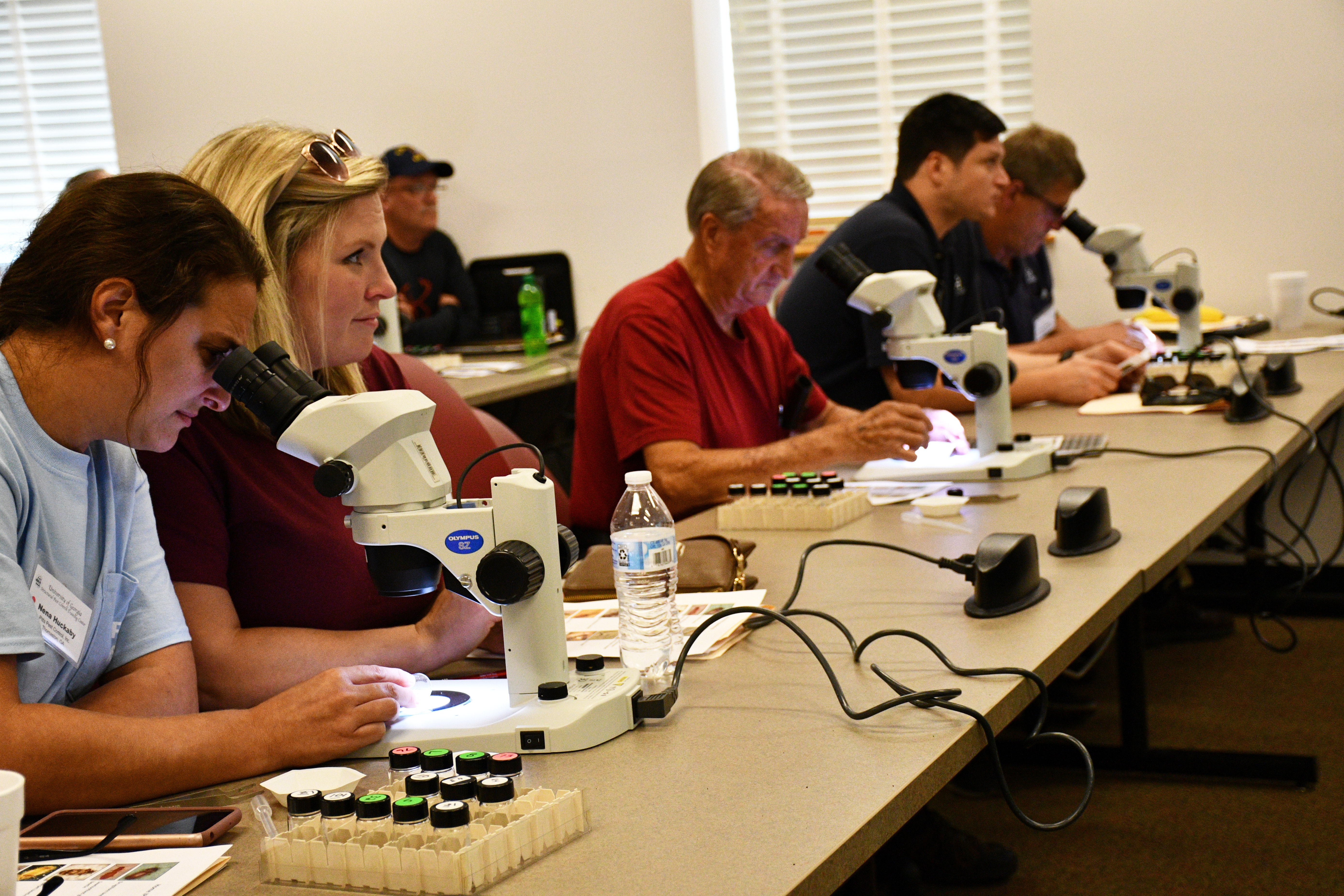 Pest control operators across the state and the Southeast attend a variety of workshops offered throughout the year by University of Georgia Cooperative Extension. A major component of these classes is insect identification.