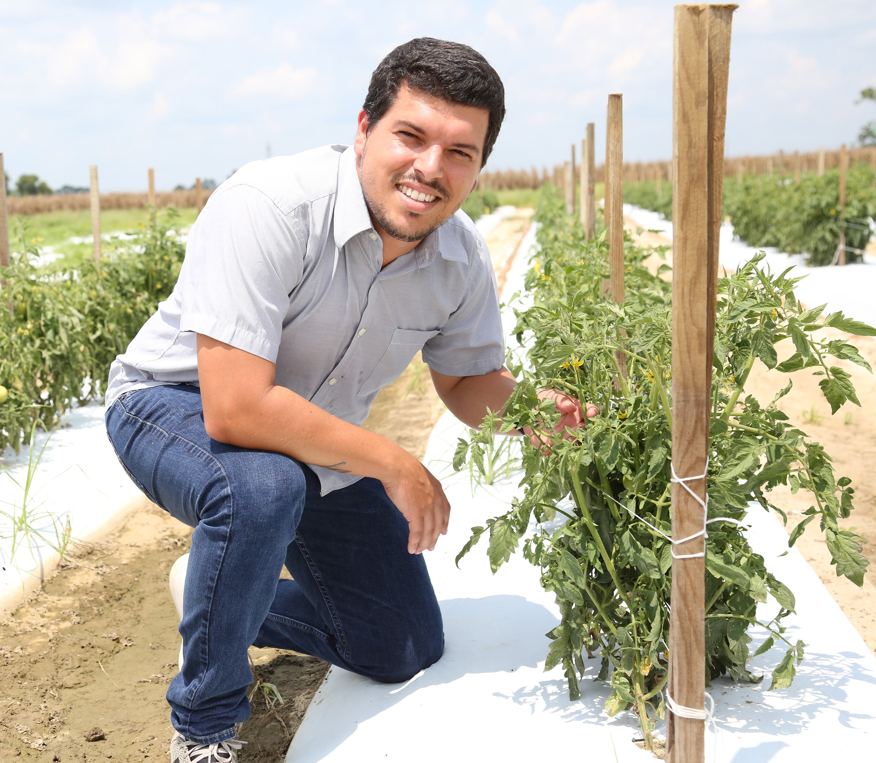 Andre da Silva is the new Extension vegetable specialist on the UGA Tifton campus.