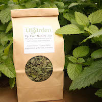 The UGArden's Medicinal Herb Program markets 10 locally grown teas, including this exam season favorite.