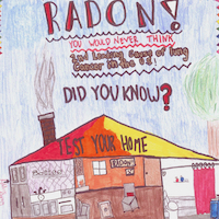 Blake Bernt, a fifth-grade student at David C. Barrow Elementary School in Athens, Georgia, was named a finalist in the 2019 UGA Extension Radon Education Program Poster Contest.