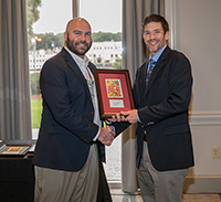 UGA Extension Agent Shane Curry (Appling County) was recognized at the Southeast Regional Fruit and Vegetable Conference on Saturday, January 12, 2019. He was named to the first class of Fruit and Vegetable 40 under 40 Award winners.
