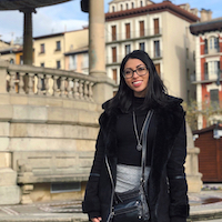 With the help of the UGA College of Agricultural and Environmental Sciences Ratcliffe Scholarship Program, Jacqueline Kessler, a fourth-year environmental economics and management major, took an internship with the Environmental Law Institute remotely while participating in an exchange program in Pamplona, Spain.