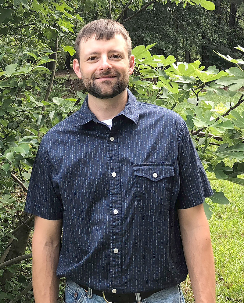 UGA CAES soil scientist Matt Levi devotes much of his time to improving Georgia's soil inventory by studying the soil profiles on farms across the state.