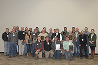 The 2018 Georgia Quality Cotton Awards were presented at the Georgia Cotton Commission's annual meeting and UGA Cotton Production Workshop on Jan. 30, 2019, at the UGA Tifton Campus Conference Center. The award winners are pictured.