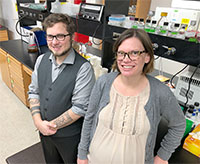 Brian Kvitko and Gaelen Burke, two faculty members in the UGA College of Agricultural and Environmental Sciences, were awarded Faculty Early Career Development Program (CAREER) grants from the National Science Foundation.