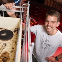 Kip Lacy, who is currently a graduate fellow at the Rockefeller University but received his master's in entomology from UGA's College of Agricultural and Environmental Sciences in 2018, worked with UGA fire ant researcher Ken Ross and DeWayne Shoemaker at the University of Tennessee to isolate and document the multi-queen colonies.