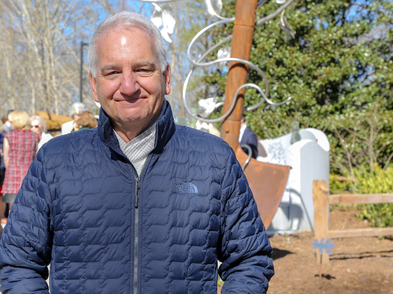 University of Georgia horticulturist James Affolter has been named to the newly endowed Larry R. Beuchat Professorship for Annual and Perennial Ornamental Plant Research.