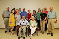 Frank McGill was presented the Medallion of Honor during a special event on Thursday, May 2, on the UGA Tifton campus. He's pictured with his family.