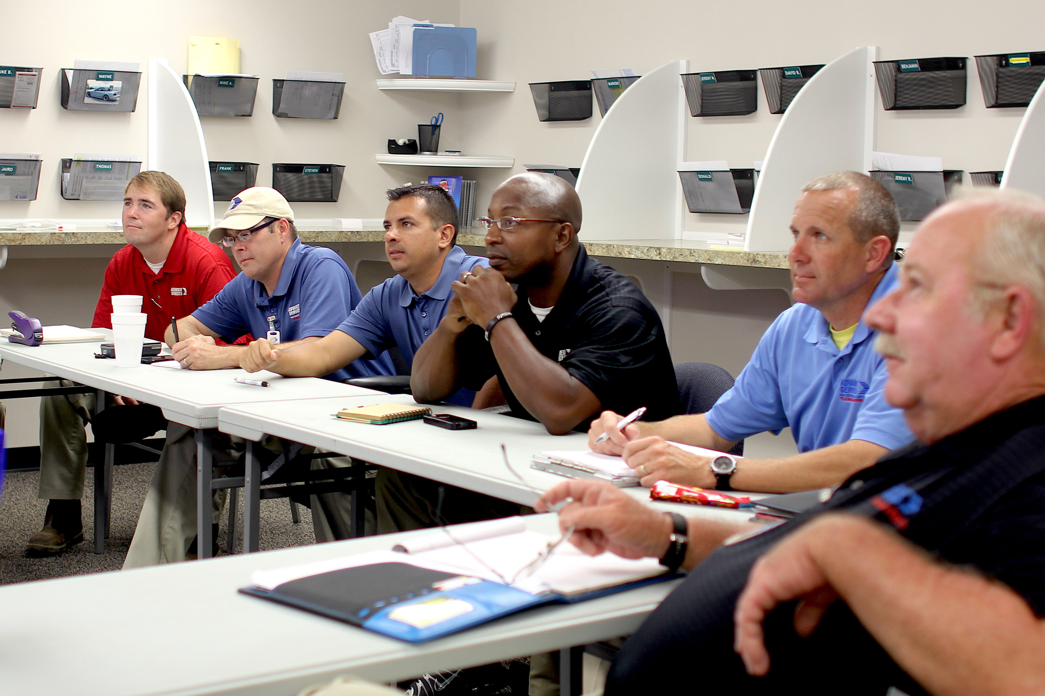 A webinar series from Univerity of Georgia Cooperative Extension saves companies time, travel and expenses and provides Extension agents user- friendly and useful information. Getting the Best of Pests reaches out to the Georgia Green Industry offering CEU Category Credits from the privacy and luxury of a home or office environment. The pest control operators shown logged into a webinar from their Florida-based office.