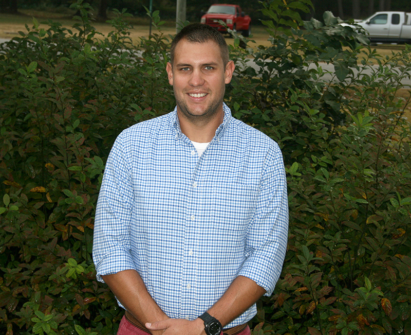UGA's Wes Porter is an expert in precision agriculture. He is located on the UGA Tifton campus.