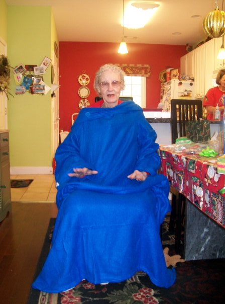 Eighty-two-year-old Elizabeth Pritchett was just one of many to get a Snuggie blanket for Christmas this season.  The Jackson resident is one of many elderly Georgians who must take extra care to stay warm this winter despite being on a fixed income.