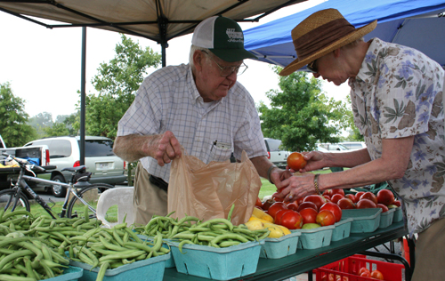 As interest in local food continues to grow, more communities across Georgia have started farmers markets, like this one in Roswell. The University of Georgia's helping to meet the demand, too, with a certificate program in local food systems.