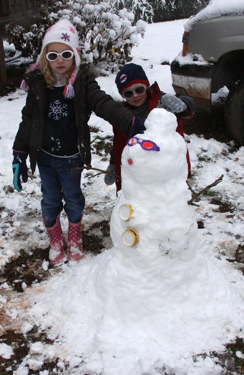 Christmas 2010 Snowman