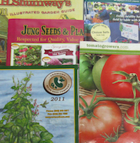 Browsing seed catalogs helps gardeners prepare for their next garden during the cold, winter months.