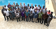 Dozens of scientists and student researchers met in Tamale in Northern Ghana in July to begin work on projects to explore peanut farming, marketing and nutrition in the West African country. (Photo by Allison Floyd)
