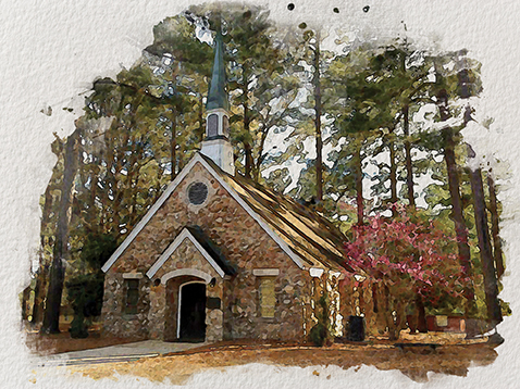 The Georgia 4-H Foundation has reached its fundraising goal for the restoration of the Rock Eagle Chapel, which was damage by fire in February.