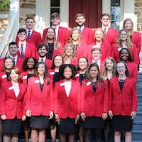 As the students at UGA College of Agricultural and Environmental Sciences start the fall semester, the 2019 CAES Ambassadors are ready to represent the college at college fairs and alumni events and help with logistics at college events.
