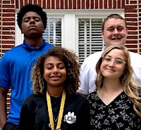 The senior Liberty County Land Judging Team won first place in Georgia 4-H's 2020 State Land Judging Contest. The team will now represent Georgia at the 2020 National Land Judging Contest in May in Oklahoma. The team is comprised of Makayla Nash, Kelly Lachowsky, Jonathan Woolf and Melvin Kimble.