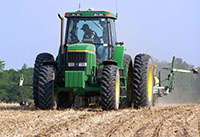 Downforce is a planter setting that helps farmers plant seeds at the appropriate soil depth.