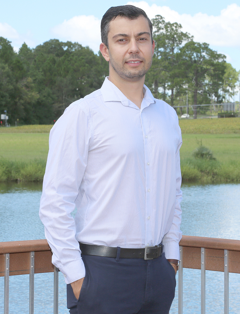 Angelos Deltsidis, who is originally from Greece, earned his doctoral degree at the University of Florida. In his new position at UGA, he'll show how commodities thrive under different storage conditions, temperatures and atmospheres.