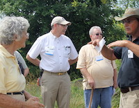 For the first time, the Georgia Master Gardeners Association is opening up its conference to the public. The conference is set for Saturday, Oct. 19 at the Museum of Aviation Century of Flight Building on Robins Air Force Base in Warner Robins, Georgia. UGA Extension consumer horticulturist Bob Westerfield is shown teaching conference attendees during a past GMGA conference.