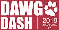 The Dawg Dash 5K is open to all ages and fitness levels and will also include a 1-mile fun run/walk. Prizes will be awarded to the first and second place overall winners and to the first place winners in each age category.