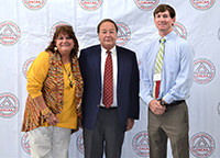 Pictured are Stephanie Hollifield, Brooks County Extension Coordinator; Richey Seaton, Executive Director of Georgia Cotton Commission; and Ty Torrance, Grady County ANR agent.