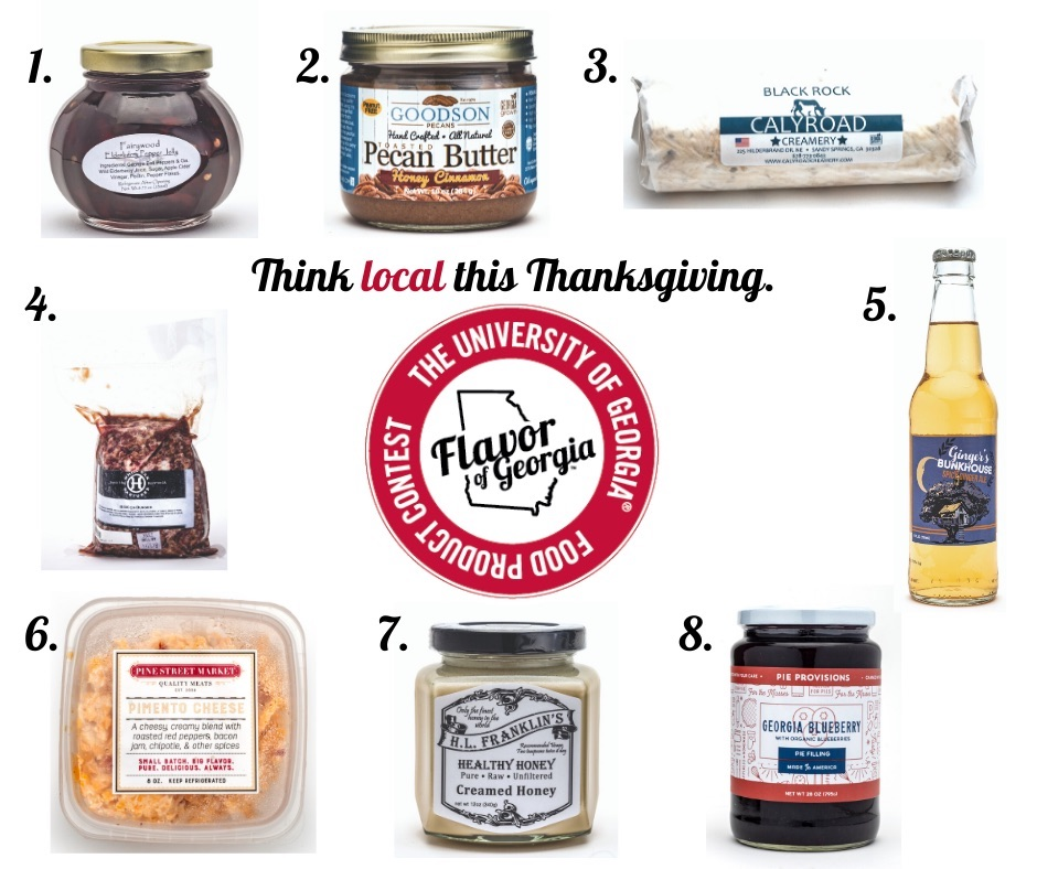 This Thanksgiving, Georgians can bring a little local flavor to their tables with products that have been featured in UGA's Flavor of Georgia food product contest.