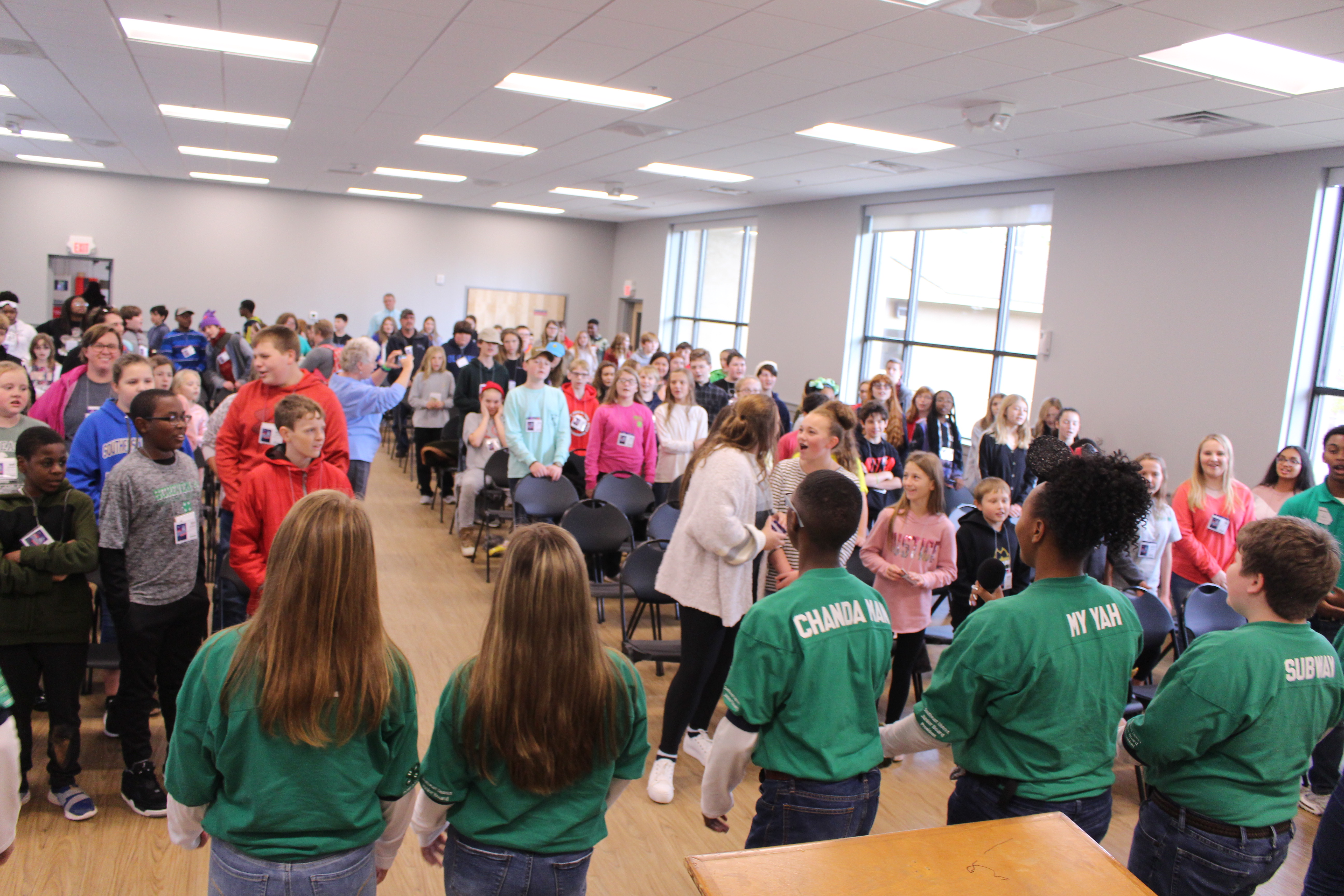 """Georgia 4-H's annual State 4-H Junior Conference is planned by the Georgia 4-H District Junior Boards of Directors, with each district board comprised of eight grade students who are elected by their district peers. This year's """"Where Dreams Come True"""" theme focused on science-related topics tied to popular children's movies."""