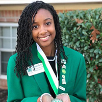 Lavendar Harris is a runner up for the 2020 4-H Youth in Action Pillar Award for STEM.