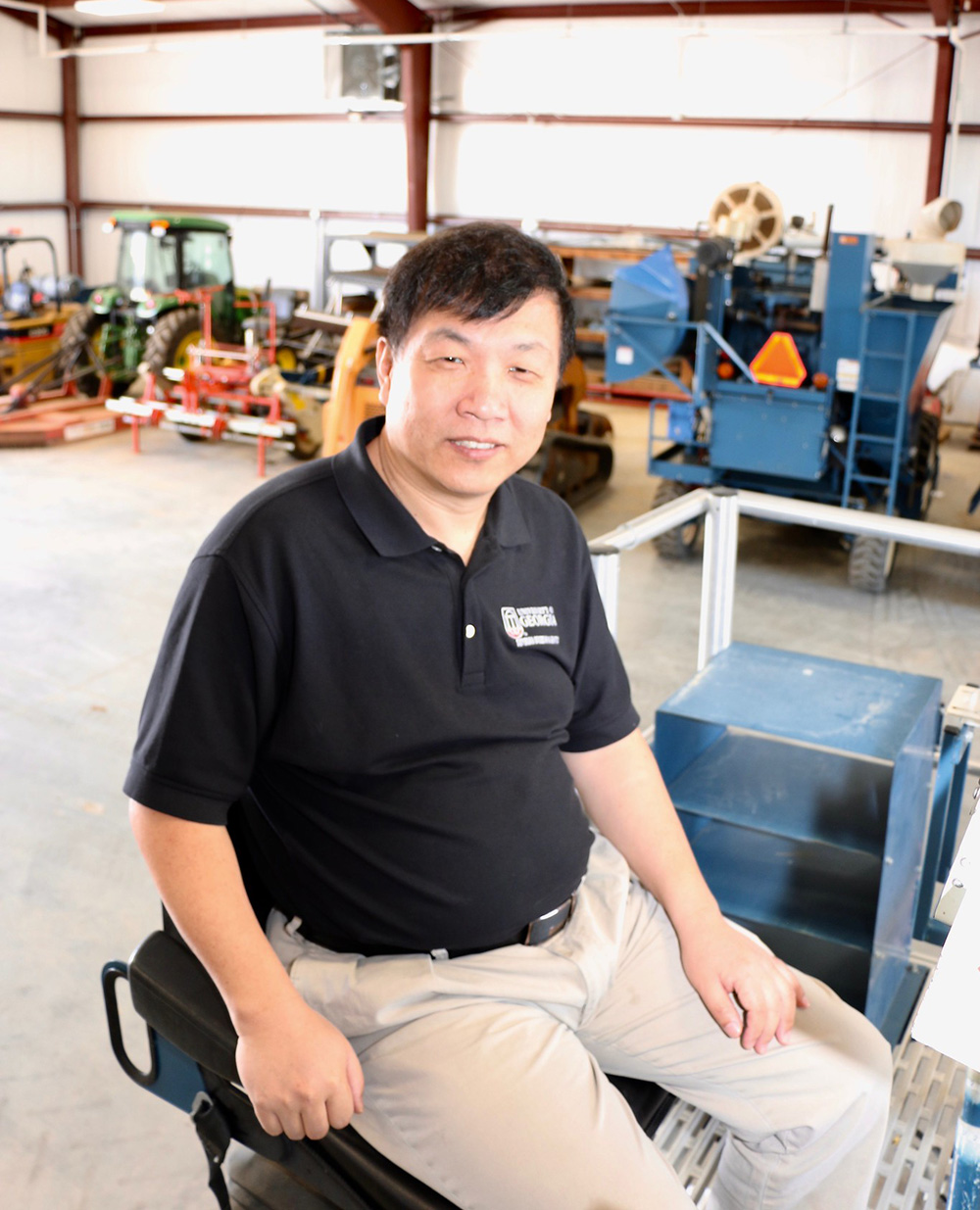 Since 2012, UGA soybean breeder Zenglu Li's lab has developed 12 soybean cultivars designed for the Southeastern climate that have been released for agricultural use.