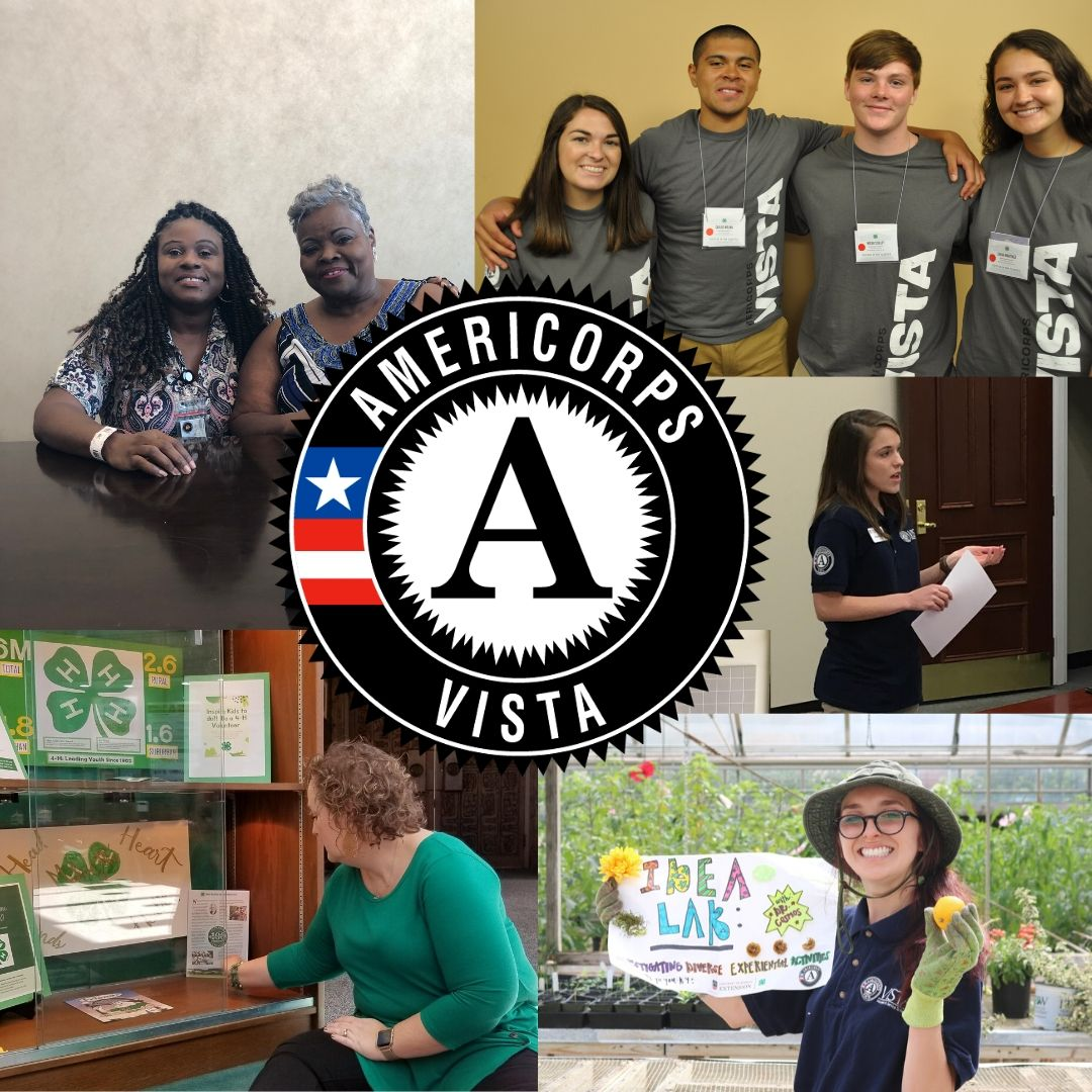 University of Georgia Cooperative Extension is celebrating its 10-year collaboration with the AmeriCorps Volunteers In Service To America (VISTA) program. To date, more than 55 full-time VISTAs have dedicated a full year of service to Georgia 4-H.