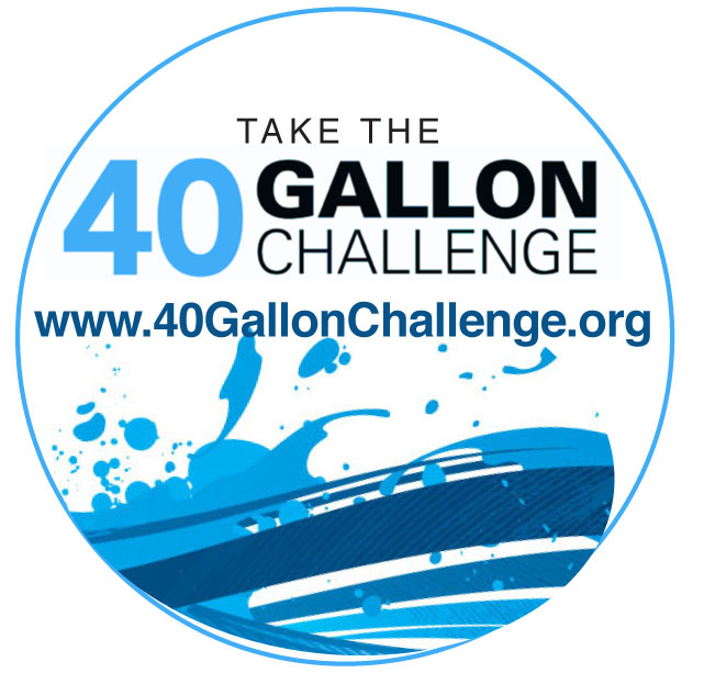 To encourage Georgians to adopt water-saving habits, University of Georgia Cooperative Extension is launching the 40-Gallon Challenge program. Participants are encouraged to save 40 gallons of water per day.