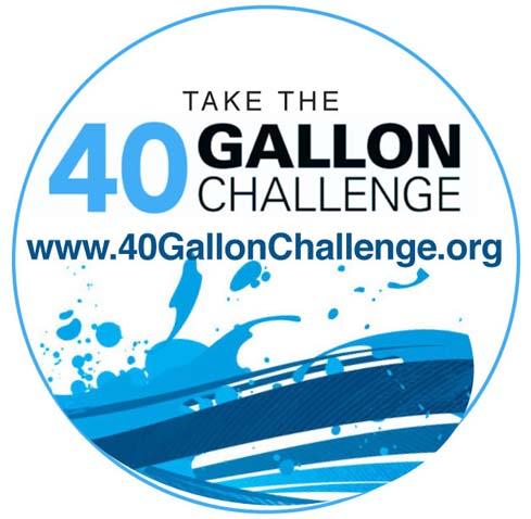 40-Gallon Challenge logo