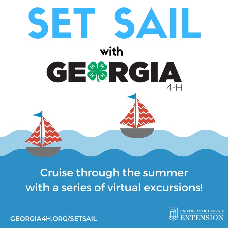 Set Sail with Georgia 4-H virtual series