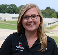 UGA senior Alyssa Rauton was elected president of ADSA-SAD for 2020-21.