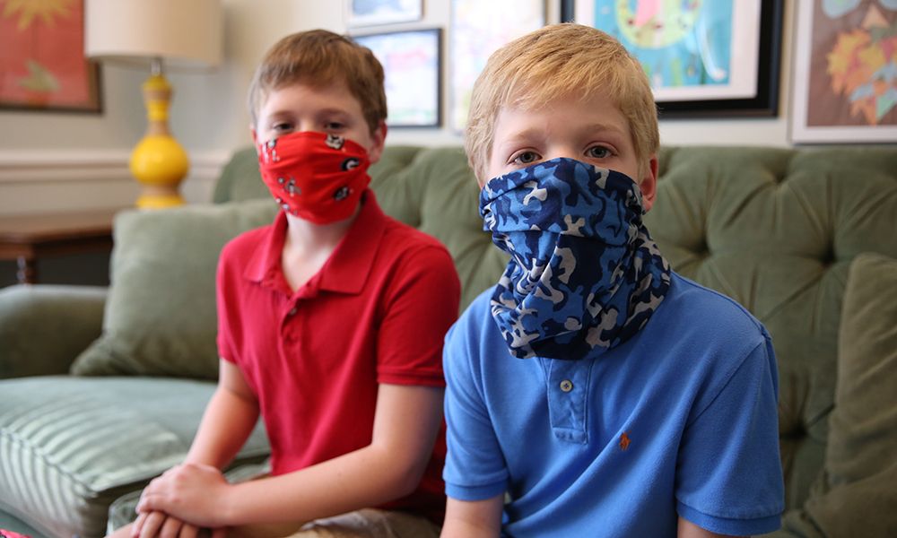 UGA child development specialist Diane Bales encourages parents to have their kids practice wearing a mask or face covering prior to the start of the school year.