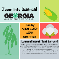 Zoom into Science will continue in the fall, beginning August 6.
