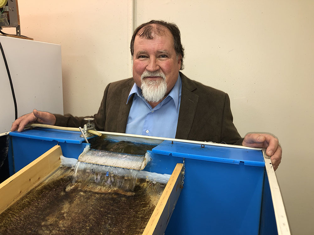 Elmer Gray (shown) will serve as assistant project director for the Black Fly Research and Resource Center. Gray helped establish UGA's Black Fly Rearing and Bioassay Laboratory in 1999 with Ray Noblet, a former head of the entomology department, who will serve as scientific advisor to the project.