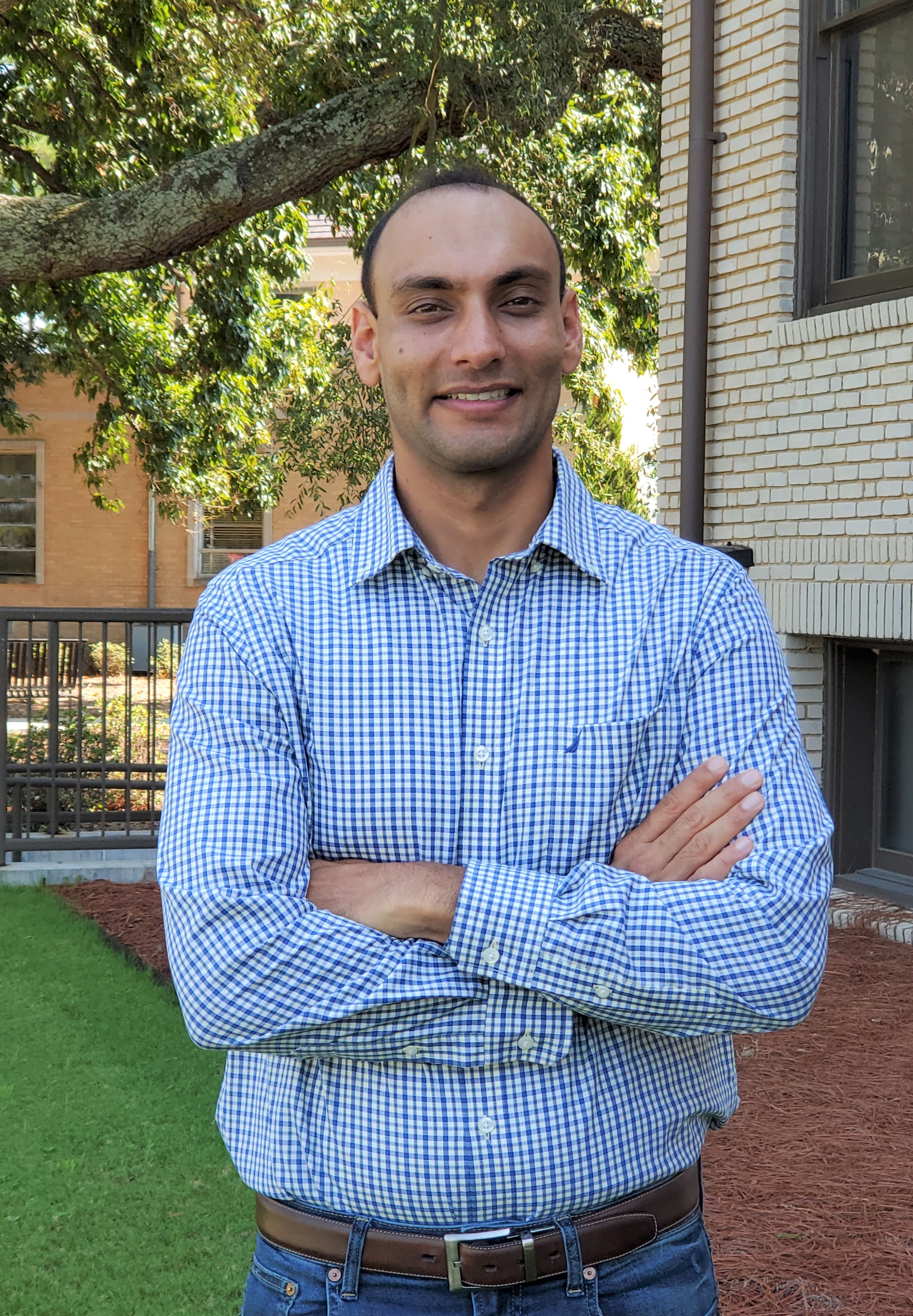 """Simerjeet """"Simer"""" Virk, who has served as a research engineer in the UGA's College of Agricultural and Environmental Sciences since 2016, took on a new role Aug. 1 as assistant professor and Extension precision agriculture specialist on UGA's Tifton campus."""