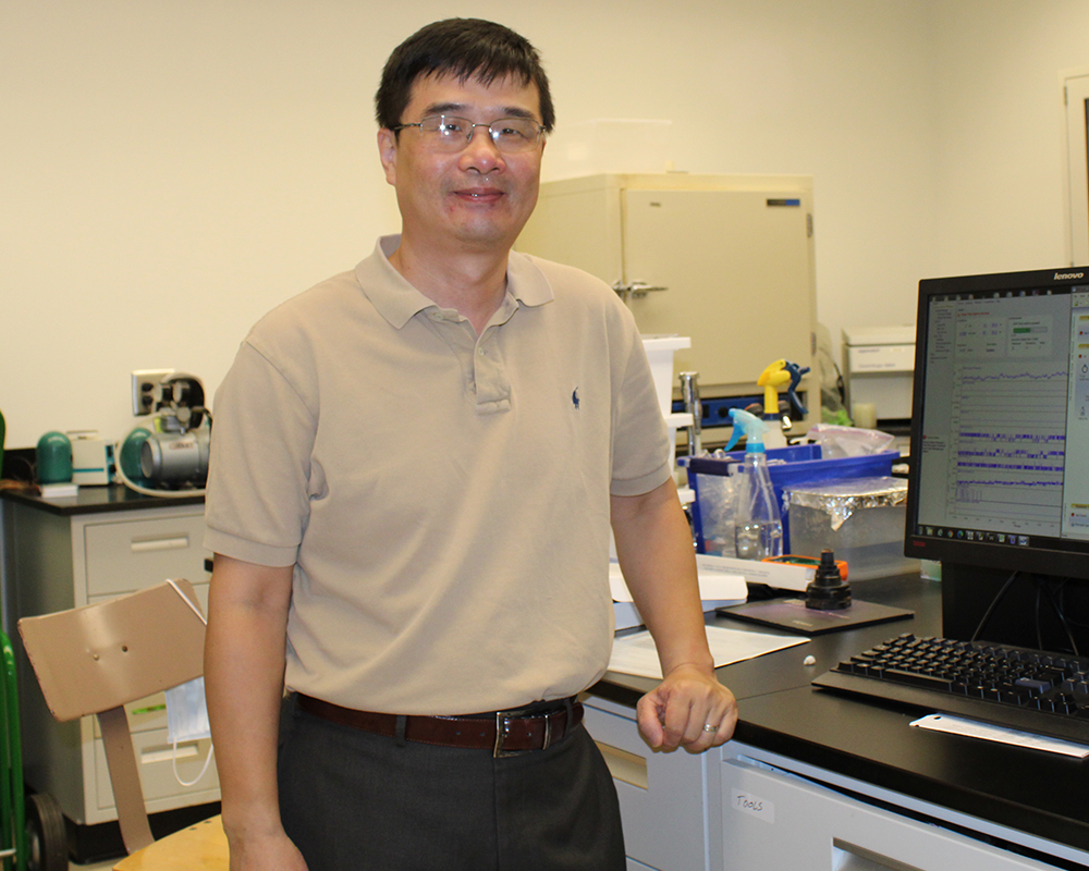 Huang's team will research cost-effective treatments to remove per- and polyfluoroalkyl substances (PFAS) from water, wastewater and biosolids to ensure safe water for drinking and agricultural application.