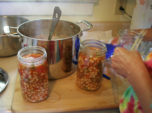 Canning soup