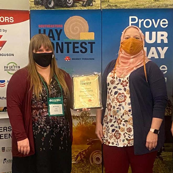 2020 Hay Contest Winners