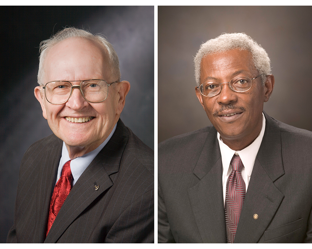 """The University of Georgia will bestow one of its highest honors on William """"Bill"""" P. Flatt, D.W. Brooks Distinguished Professor Emeritus, and the late Ivery Clifton, a former faculty member and administrator in the College of Agricultural and Environmental Sciences and associate vice president for academic affairs, in a virtual awards ceremony Jan. 25."""