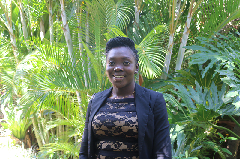 Danielle Essandoh, a master's student at Makerere University in Uganda, grew out 376 lines of plants derived from peanut ancestors and looked for resistance to modern diseases. The project, headed by Soraya Leal-Bertioli at the University of Georgia, could result in new varieties that allow African farmers to fight plant diseases that can decimate a crop.